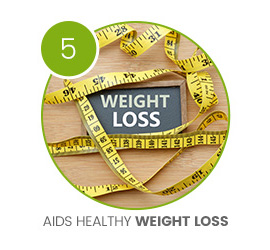 image of measuring tape surrounding the term weight loss
