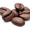 photograph of coffee beans to represent caffeine in the pills