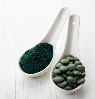 Spirulina Powder Or Tablets