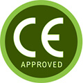 CE logo to show that the circulator is an approved device
