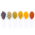 Cleansing spices use to follow a healthy organic diet
