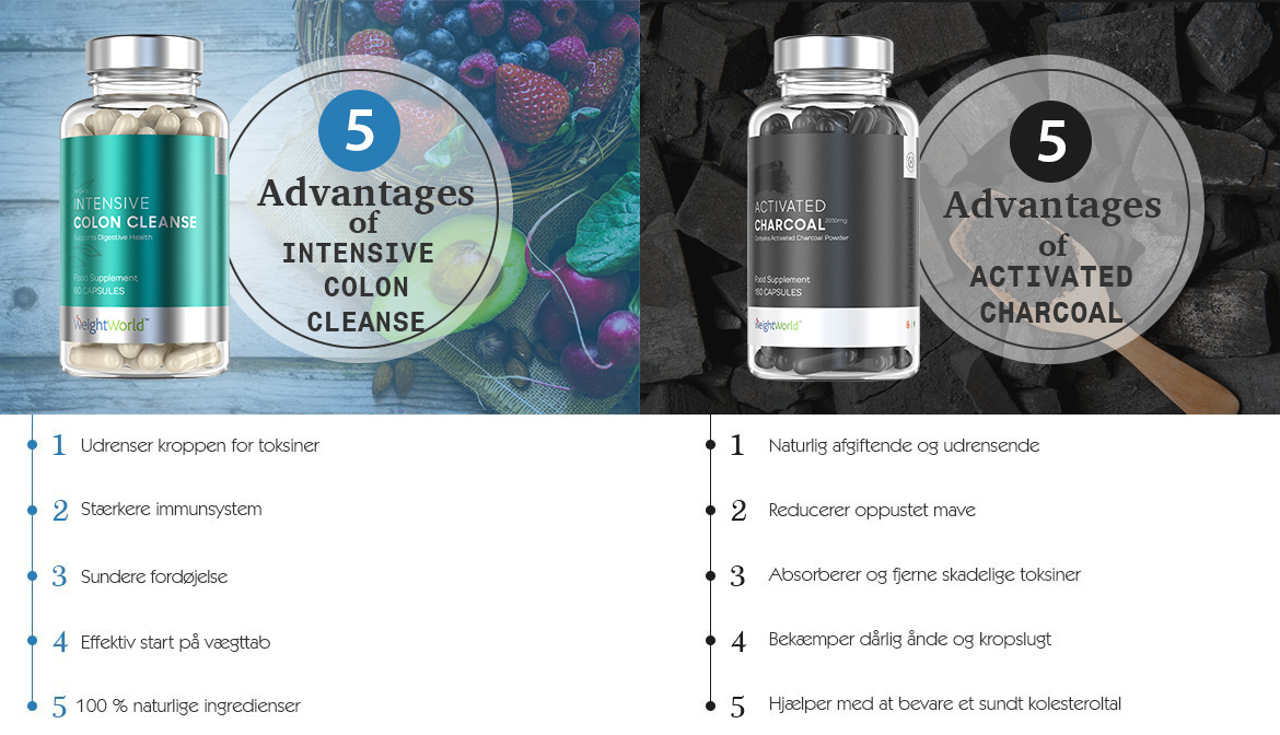 5 Advantages of Colon Cleanse & Activated Charcoal