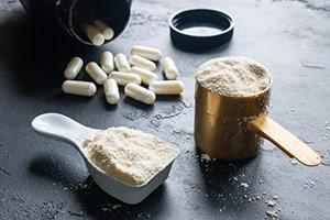 Creatine Powder And Capsules