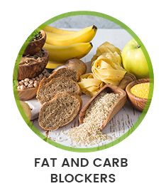 Foods High In Carbohydrates to show fat and carb blockers