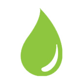 cartoon drop of water to represent hydrated moisturised skin skin