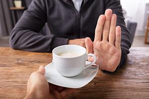 Man Says No To Coffee