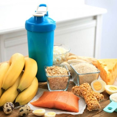 different foods that are high in protein for muscle development