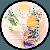 Healthy Drinks In Jars