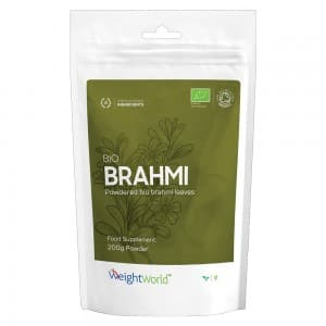 Bio Brahmi Powder - Organic Plant-Based Support Supplement For Body And Mind - 200g