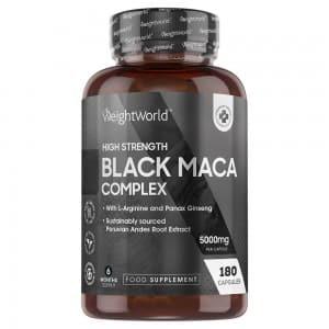 Black Maca Complex | Natural Energising Food Supplement