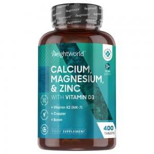 Calcium, Magnesium and Zinc with Vitamin D3