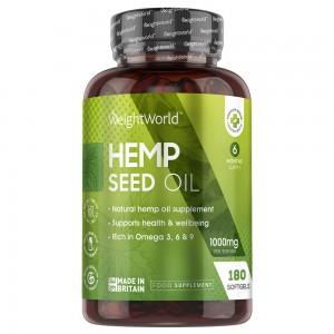 Hemp Seed Oil Softgels
