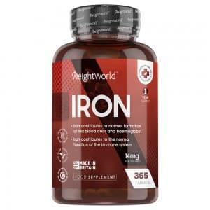 Iron Tablets | Food Supplement for Normal Functioning of Immune System and Normal Formation Of Red Blood Cells & Haemoglobin