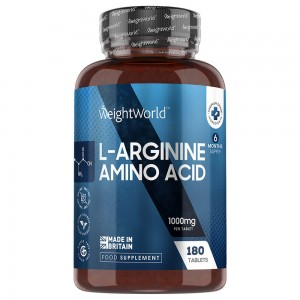 L-Arginine tablets - Fitness Supplement for Size, Definition and Muscle Performance - 180 Tablets