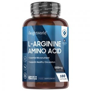 L-Arginine capsule - Fitness Supplement for Size, Definition and Muscle Performance - 180 Capsules