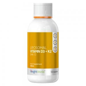 Liposomal Vitamin D3 + K2 | Liquid Supplement for Bone & Joint Care and Natural Immunity Boost