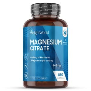 Magnesium Citrate | Natural Wellbeing Supplement