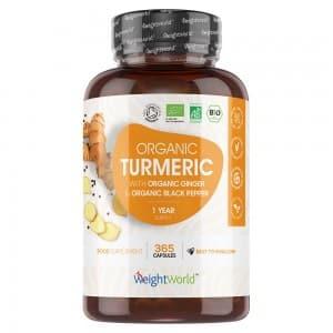 Organic Turmeric with Ginger & Black Pepper