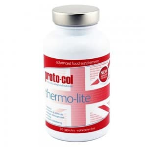 front view of proto-cols thermo lite supplement capsules for metabolism
