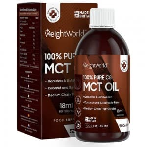 WeightWorld Pure C8 MCT Oil 500 ml