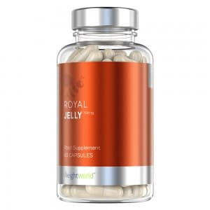 Royal Jelly - Natural Immunity and Supporting Supplement From Bees - 60 Capsules