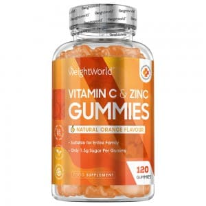 Vitamin C & Zinc Gummies  - WeightWorld