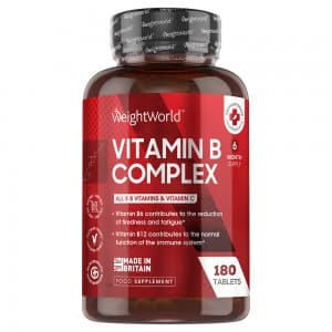 Vitamin B Complex | Natural Food Supplement for Body Maintenance