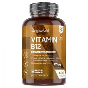 Vitamin B12 | Natural supplement for energy yielding metabolism.