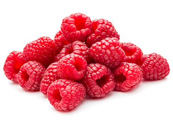 Pile of Red Raspberries to show benefits of raspberry ketones