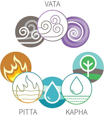 The three Doshas and your Ayurvedic body type