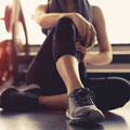 image of woman at the gym to show that working out again to aid recovery