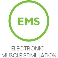 icon for ems showing that silk'n lipo uses ems technology