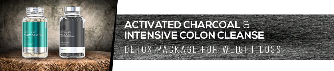 Activated Charcoal & Colon Cleanse Page Banner