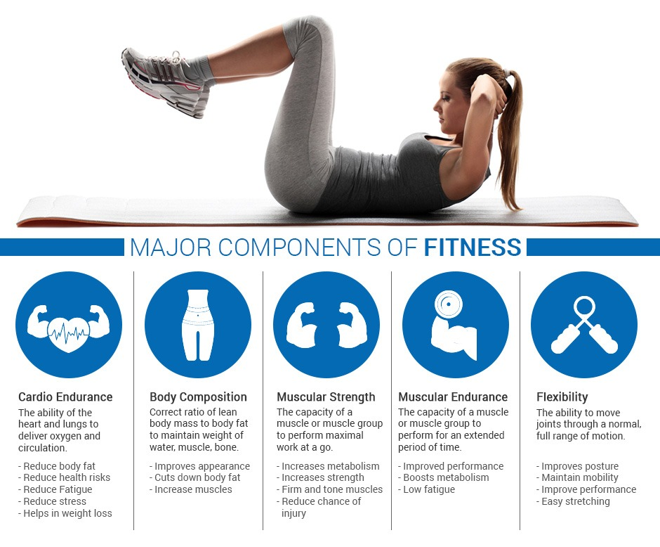 Major Components of Fitness